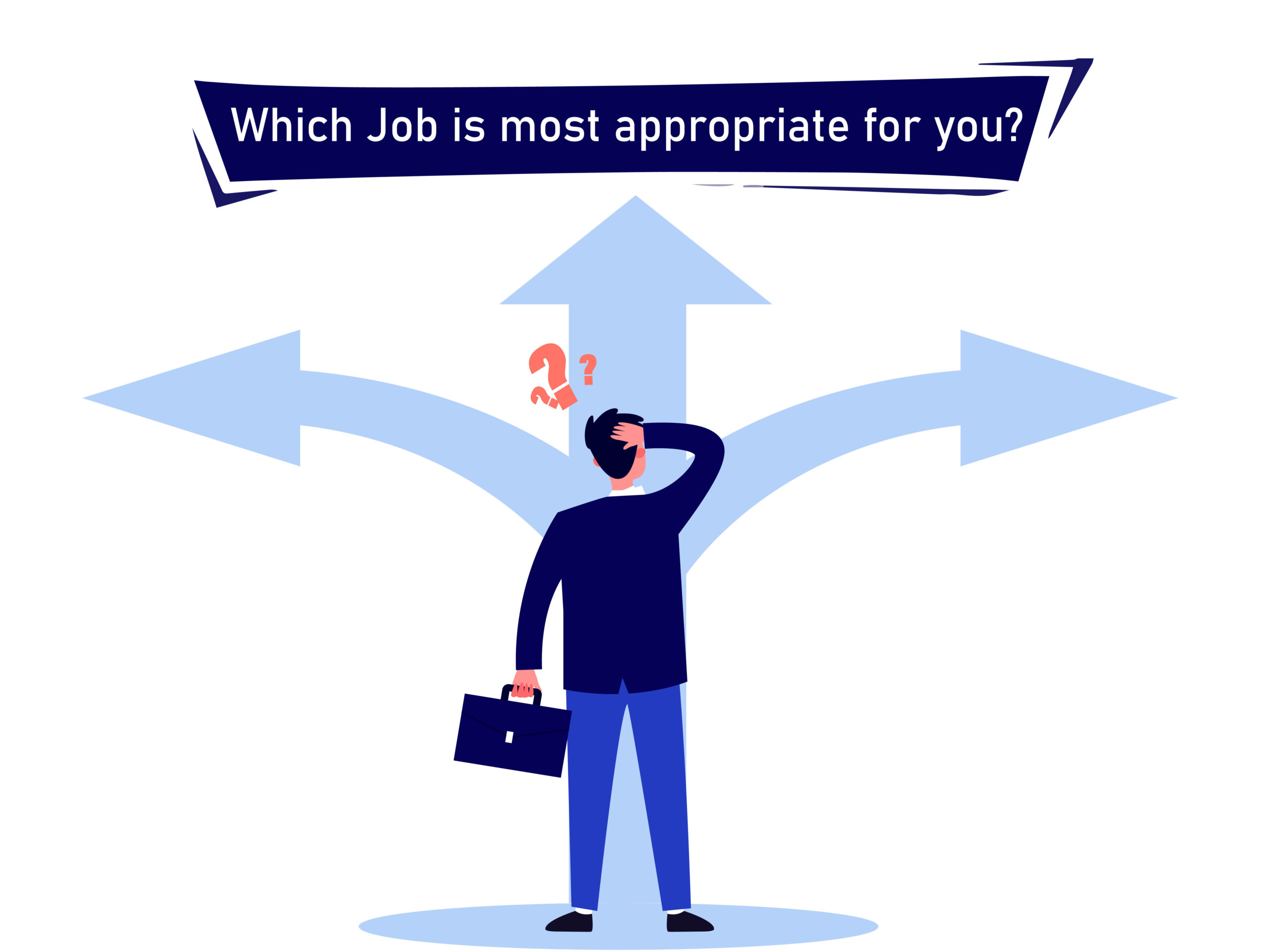 Tips on how to find the most appropriate job role